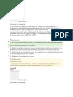 EVALUACION UNIDAD 2, DIPLOMADO AUDITORIA DE SISTEMAS DE GESTION ISO 19011