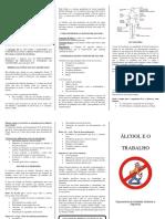Folheto - Alcoolemia