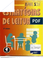 LIBRO ESTRATEGIAS DE LECTURA--ISABEL SOLÉ