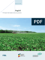 (2019) Agricultura ecologică – Principii de bază și bune practici