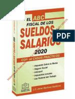EL ABC FISCAL DE LOS SUELDOS Y SALARIOS 2020