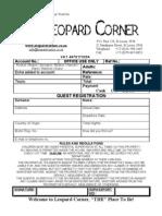 Lc Registration Form