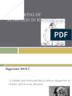 Monitoring of Nutrition in ICU