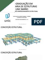 AULA 2 - CONCEPÇÃO E PRÉ-DIMENSIONAMENTO ESTRUTURAL CONCRETO ARMADO - OK