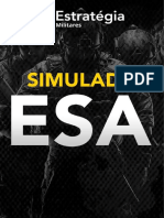 1 Simulado ESA - Estratégia Militares