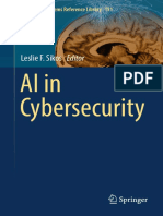 ai cybersecurity intelligent systems reference library