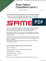 [Linux] Adicionando um Linux em um Domínio Samba – Bruno Izidório