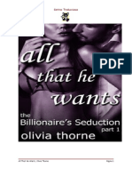 1. All That he wants - Olivia Thorne