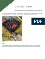 Modify 24 pin SMPS to Dell Optilex 8 pin SMPS