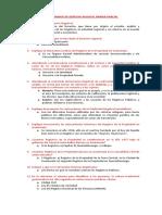 CUESTIONARIO DE DERECHO REGISTAL