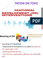 CO 6. OD INTERVENTIONS