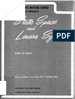 Donald M. Wiberg - Schaum's Outline of Theory and Problems of State Space and Linear Systems-Mcgraw-Hill (1971)