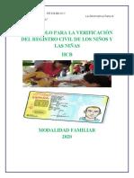 ESTANDAR 1 PROTOCOLO PARA LA VERIFICACIÓN DEL REGISTRO CIVIL DE LOS NIÑOS Y LAS NIÑAS.docx