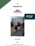 MBA SCPO Brochure