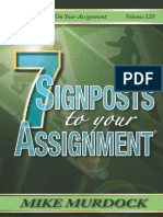 7 Sign post to your assignment - Mike murdock