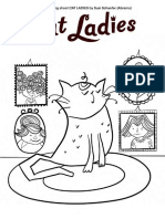 Cat Ladies Coloring Kit