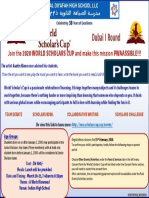 World Scholars Cup - Dubai Round I