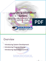 Chapter 12 Systems Development, Program Changes, and Application Auditing