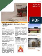 PXR-PC-02-2012 Protección Contraincedio