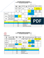 Time Table-Even Sem 2020 with UPDATED elective