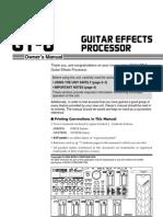 GT-8 manual