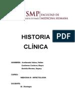Historia Clinica - Infecto pasado
