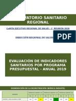 OBSERBATORIO SANITARIO REGIONAL 2020