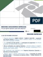 1. Abertura -Por que regimes especiais e quem deve utilizá-los - Jose Carlos-Regimes