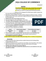 Admission for F.Y.B.Com (2019-20) Outsiders (1st Merit List) & Sindhi Minority Students.pdf