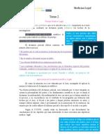Guía de medicina legal. Tema 2.