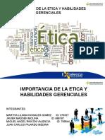 Presentacion Etica y Habilidades Gerenciales