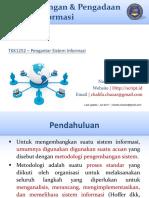 TKK1252 - PERTEMUAN 10_pengembangan dan pengadaan sistem informasi