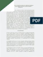 ACTA CONTITUTIVA DEL SUBCOMITE DE MORTALIDAD MATERNA Y PERINATAL