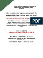 Trabalho - Strong Steel. (31)997320837