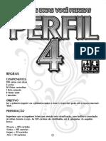 Manual do jogo Perfil 4