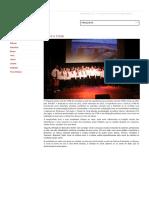 Projeto Canto Coral