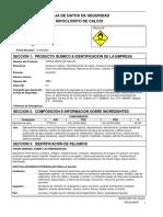 Hipoclorito de calcio MSDS.pdf