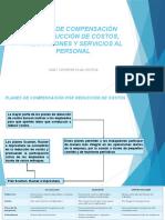 PLANES DE COMPENSACIÓN POR REDUCCIÓN DE COSTOS,