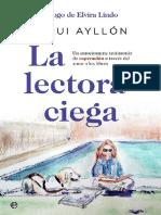 Ayllon Paqui -  La Lectora Ciega