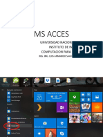 MS ACCES
