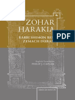 [Judaism and Jewish Life] Rabbi Shimon Ben Zemach Duran - Zohar Harakia (2012, Academic Studies Press)