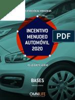 PER Incentivo Menudeo Automvil 2020