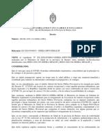 Decreto de emergencia sanitaria en Provincia por el coronavirus