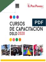 Cursos DSLD 2020