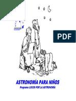 ASTRONOMÍA PARA NIÑOS (1)