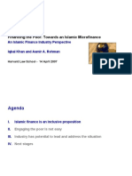 An Islamic Finance Industry Perspective by Iqbal Khan and Aamir A. Rehman.ppt