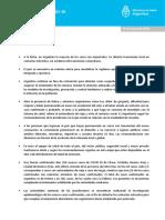 Son 31 los casos confirmados de coronavirus en Argentina