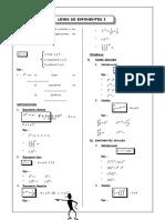 Guia 1- Leyes de Exponentes I