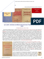 Las cuatro versiones soviéticas del Diccionario filosófico de Rosental e Iudin