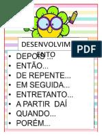 CARTAZ PRODUÇÃO DE TEXTO
